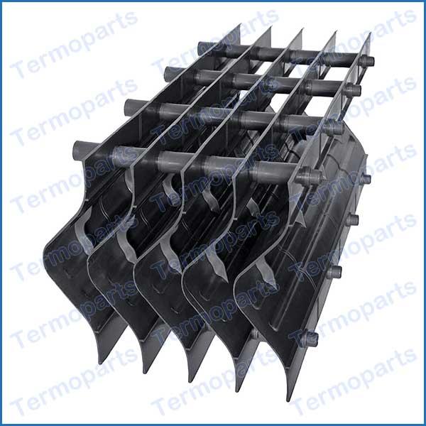 eliminador de gotas de torres de resfriamento