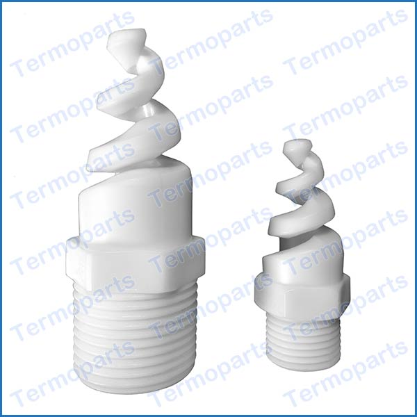 Bico Espiral Spiral Nozzle em PP - TBA 33